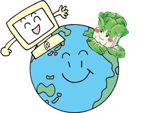 在网上销售各种农产品